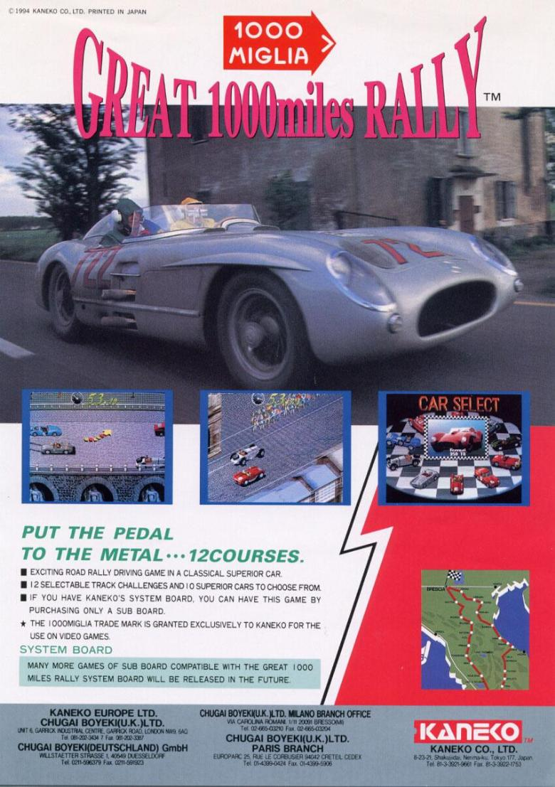great 1000 miglia rally
