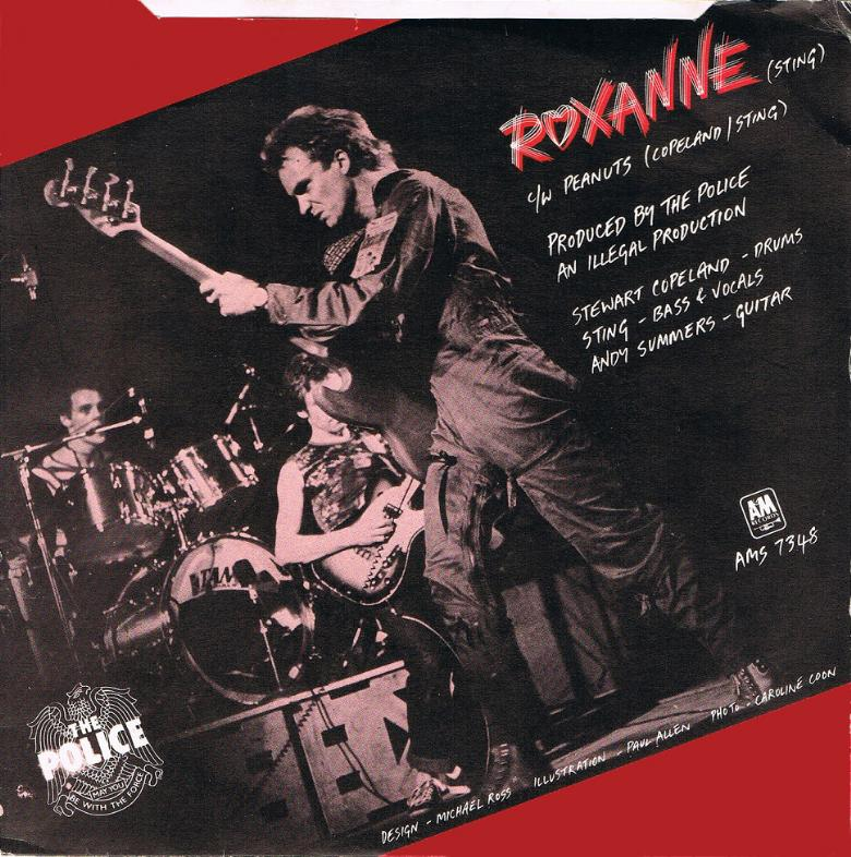 1978 roxanne uk 7inch cover variation