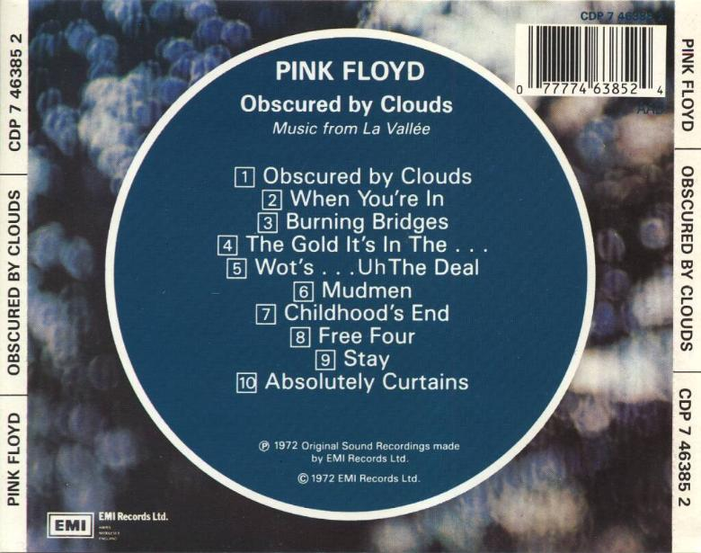 Curtains Ideas absolutely curtains pink floyd : Pink Floyd - Obscured by Clouds